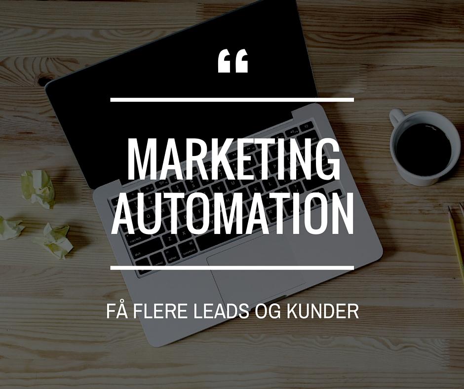 marketing automation - hvad er det?