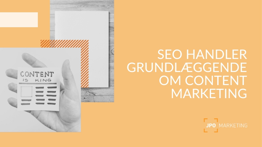 SEO og content marketing hænger sammen