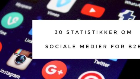 sociale medier statistik for B2B