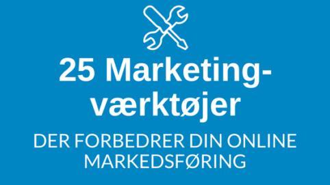 25 marketing værktøjer