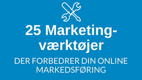 25 marketing værktøjer
