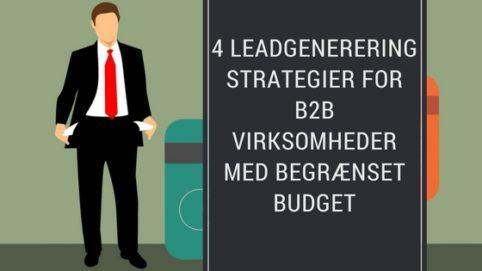 leadgenerering strategier for b2b virksomheder