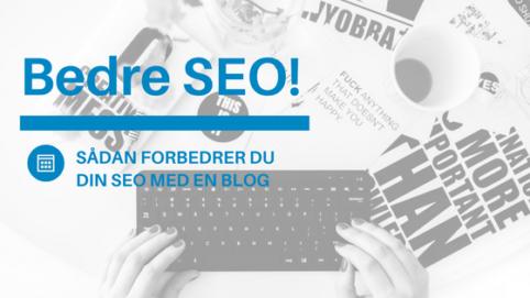 få bedre seo med blogging