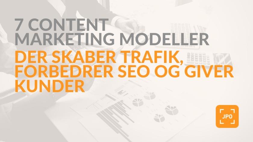 Skab trafik og få kunder med disse marketing modeller